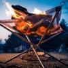 キャンプツーに最適 軽量焚き火台 Kaliliファイアスタンド レビュー
